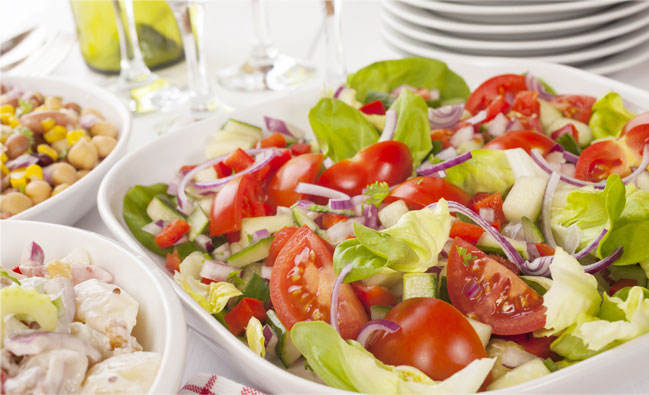 assortment-of-salads